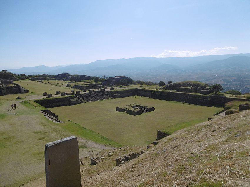 Site de Monte Alban au Mexique.