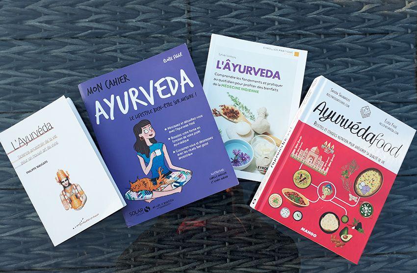 Recommandation de livres pour découvrir l'ayurveda.
