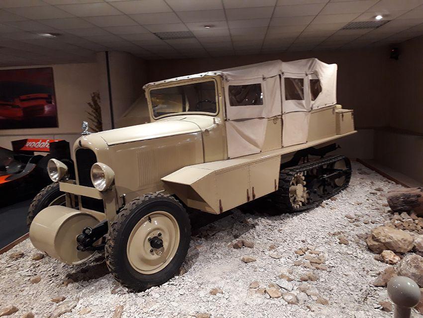 Citroen de 1929 dans le musée de l'Automobile à Monaco.