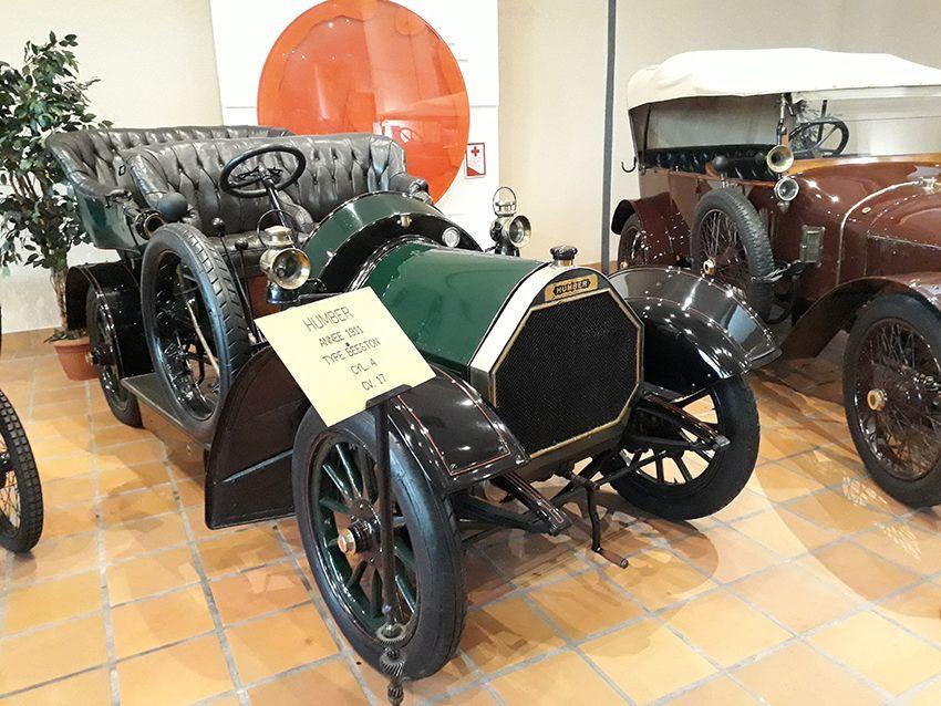 Humber de 1911 dans le musée de l'Automobile à Monaco.