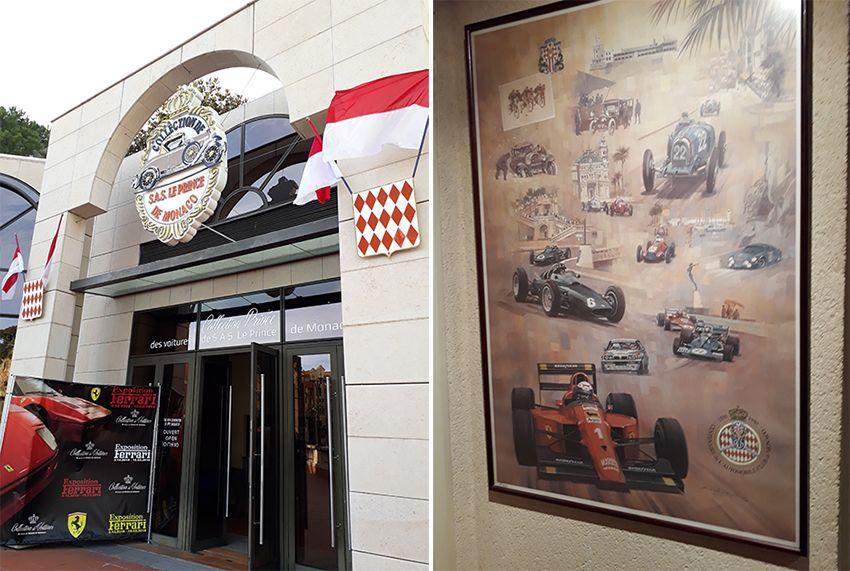 Musée de l'Automobile à Monaco.