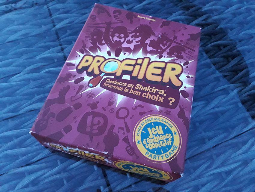 Profiler, un jeu d'ambiance coopératif.