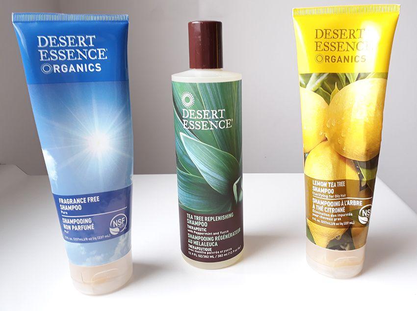 Les shampooing desert essence.