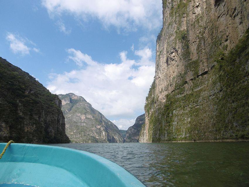 Canyon del Sumidero au Mexique.