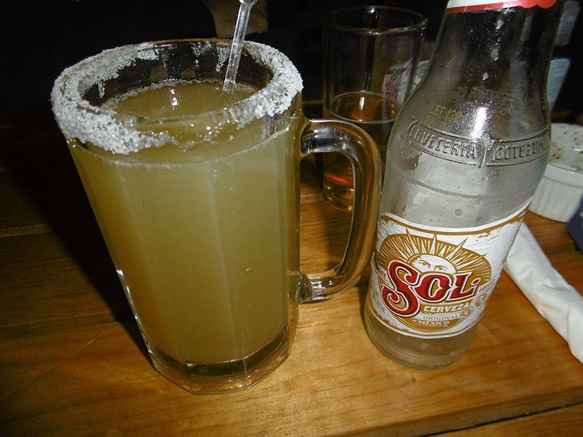 Chelada o michelada, boissons typiques du Mexique.