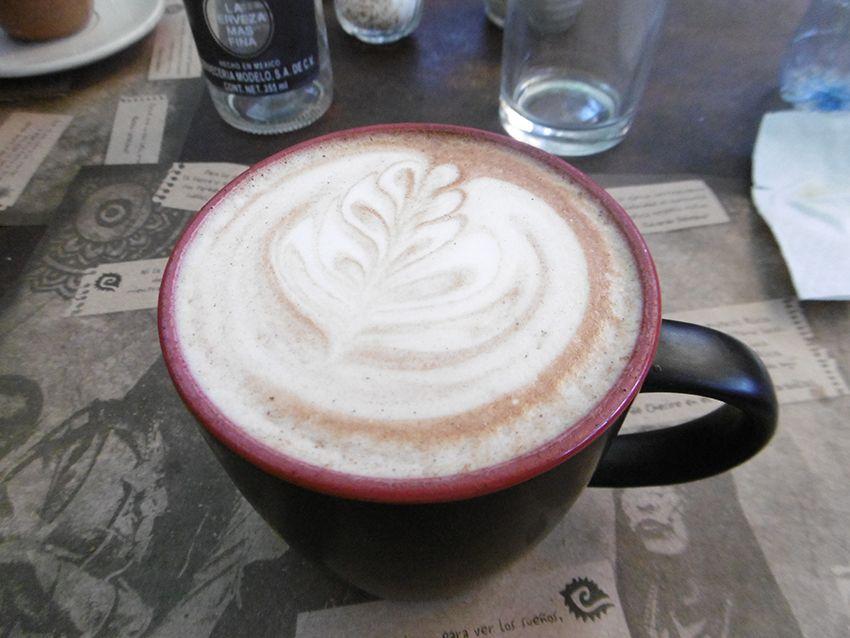 Chocolat chaud au Mexique (pays des mayas et des aztèques).