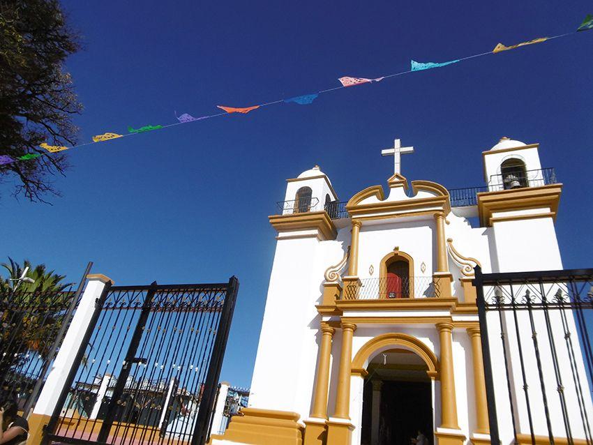 Église de la Guadalupe à San Cristobal de las casas au Mexique.