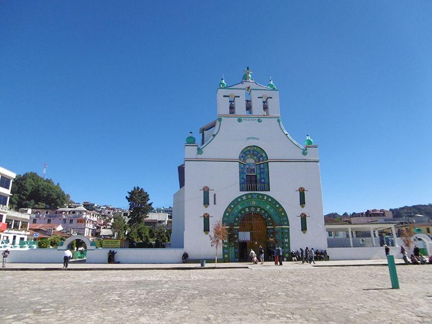 Église de San Juan Chamula au Mexique.