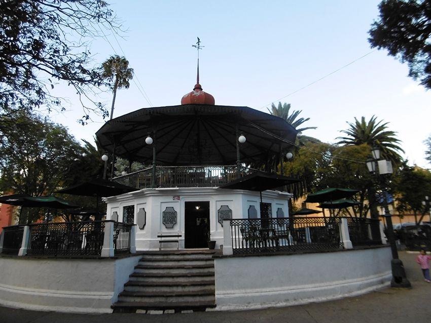 Kiosque à musique de San Cristobal de las casas au Mexique.