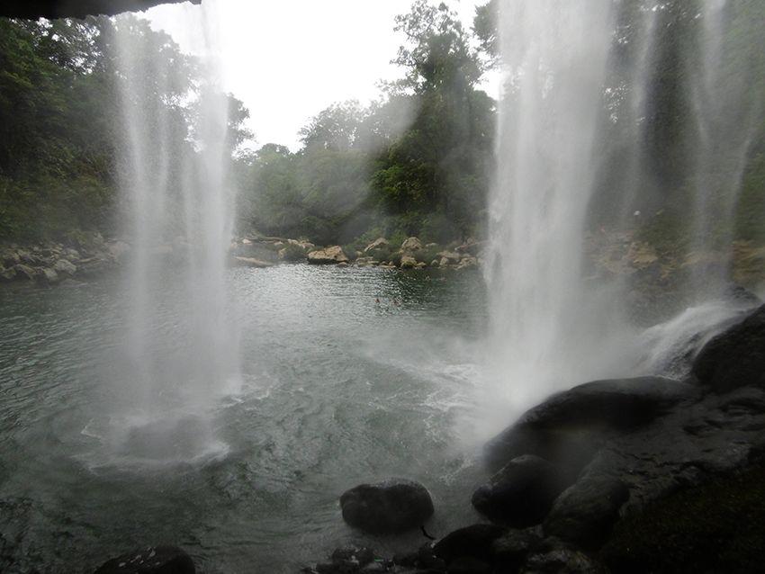 Cascades Misol-Ha dans le Chiapas au Mexique.