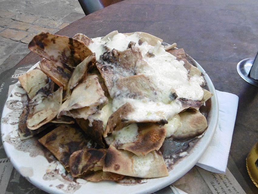 Nachos au Mexique.