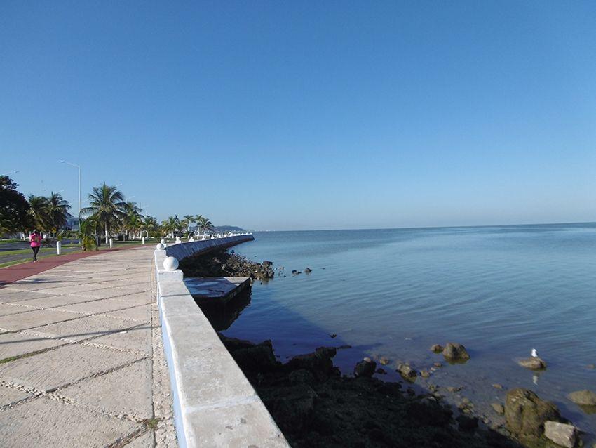 Golfe du Mexique depuis Campeche.