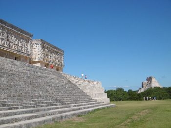 Site d'Uxmal au Mexique.