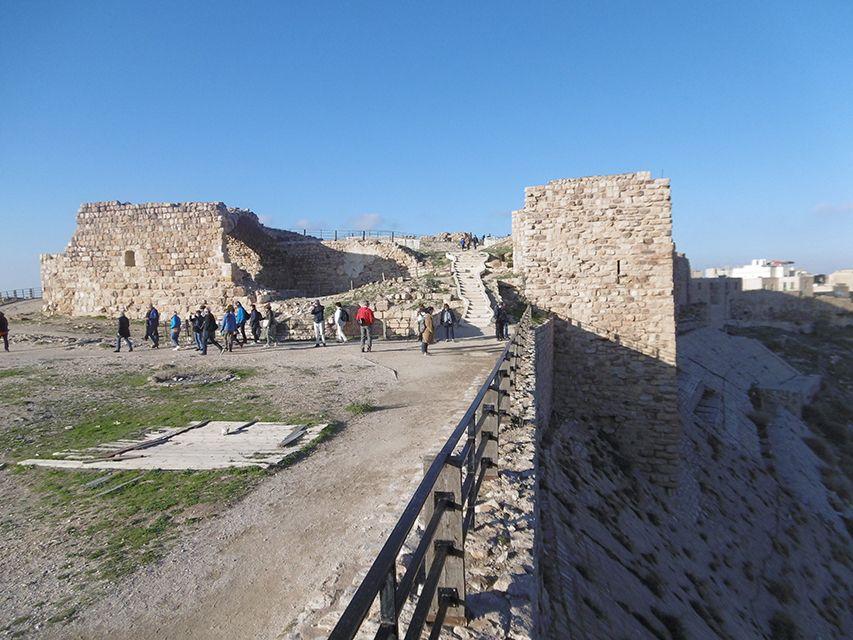 Château forteresse de Kerak en Jordanie.