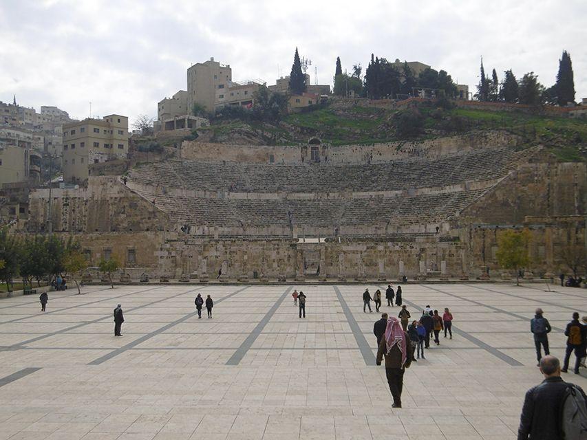 Amphithéâtre d'Amman en Jordanie.