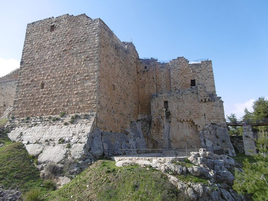 Forteresse d'Ajloun en Jordanie.