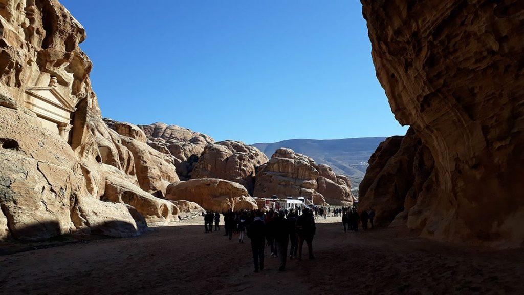 Little Petra ou la petite Petra en Jordanie.