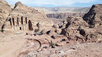 Monastère de Petra en Jordanie.