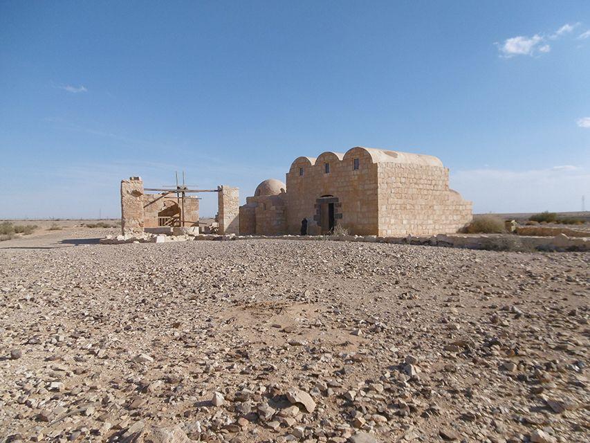 Qasr Amra, château du désert en Jordanie.