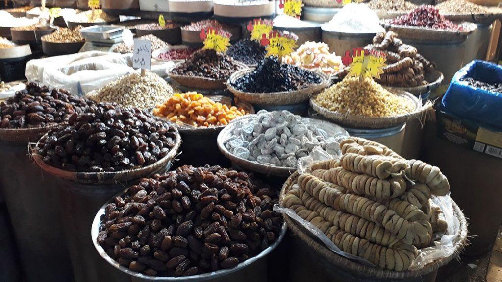 Dans le souk d'Amman en Jordanie.