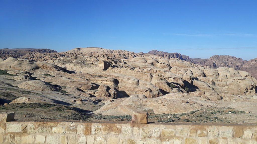 Wadi musa en Jordanie.