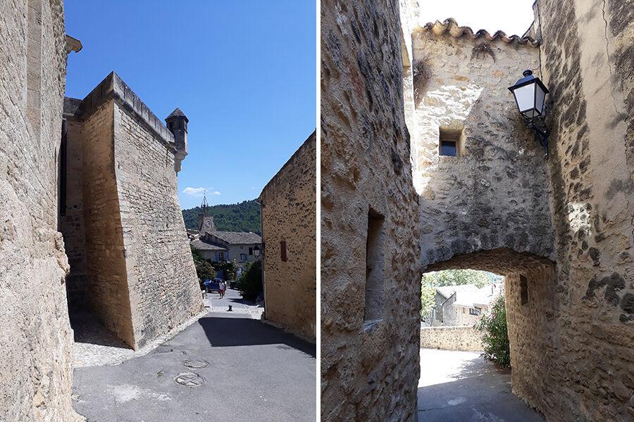 Visite du village de Cucuron.