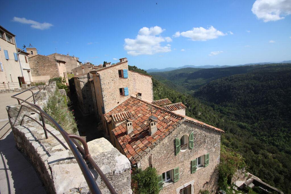 Village de Saint-Césaire-sur-Siagne.