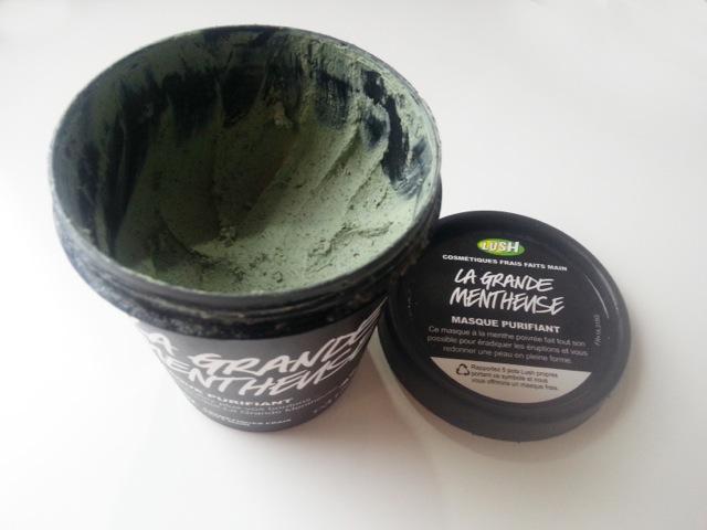 Masque frais et purifiant, la grande mentheuse de LUSH cosmétiques