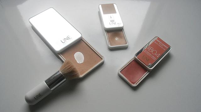 maquillage nude, naturel pour le teint, de la marque cosmétique Une Beauty