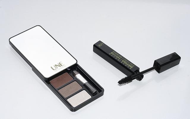 maquillage nude, naturel pour les yeux, de la marque cosmétique Une Beauty