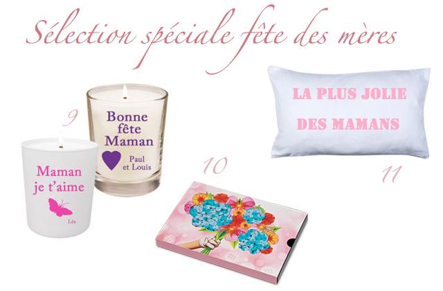 Sélection d'idées de cadeaux pour la fête des mères