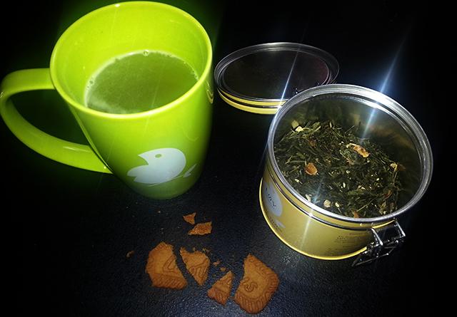 thé bio Lov Organic au gingembre et citron