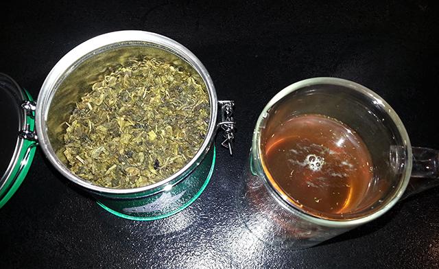 thé vert bio Lov Organic à la menthe