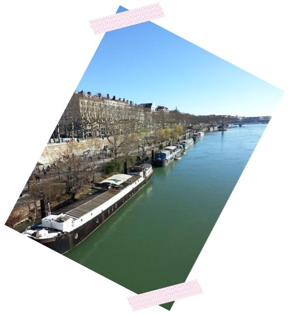Visiter Lyon en 2 jours, les bords du Rhône