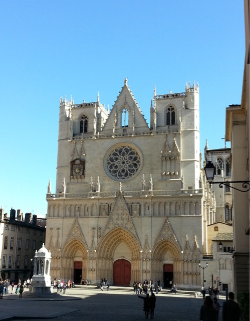 Visiter Lyon en 2 jours, la Cathédrale Saint-Jean-Baptiste