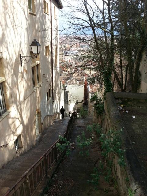 Visiter Lyon en 2 jours, descente de la fournière