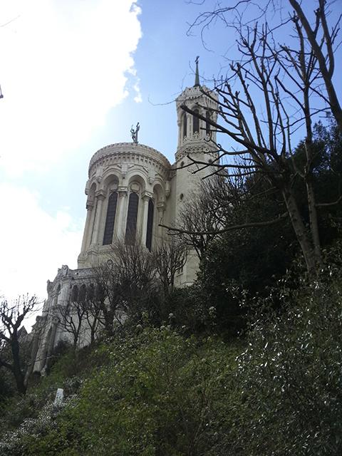 Visiter Lyon en 2 jours, jardin du rosaire, sous fourvière