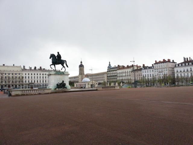 Visiter Lyon en 2 jours, place Bellecourt