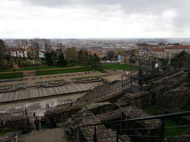 Visiter Lyon en 2 jours, ruines du théâtre gallo-romain