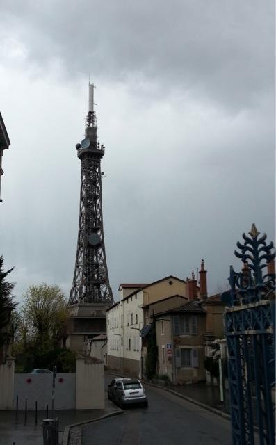 Visiter Lyon en 2 jours, tour métallique